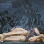 Delacroix / revolution, 100x130, 2013