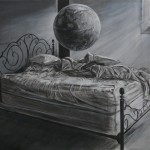 Isaac Newton's sovekammer, 90x120, 2013