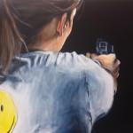 Smiley, 45x80, 2012