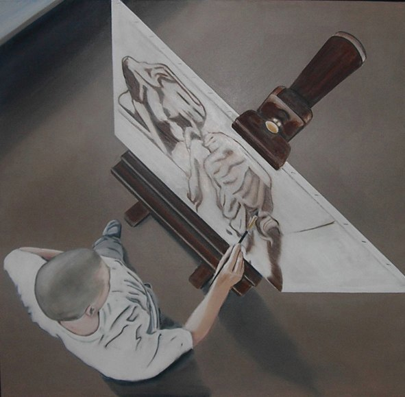 Martin Fasting maleri painting