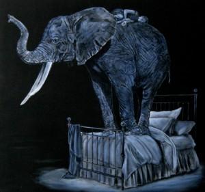 Elefant, dyb søvn