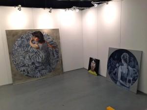 Om Art Copenhagen i Forum. Martin Fasting udstiller på Jørgen Østergaards stand