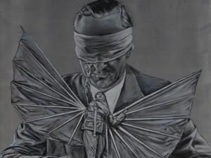 Blindfold, 110×90