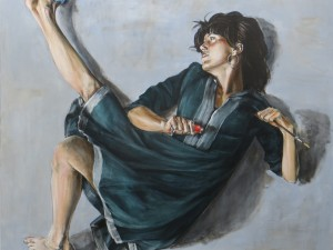 kvinde, u.t. 160×160, 2015