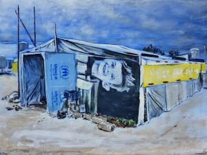 Tent 2, Refugee camp, Akkar, Lebanon, 2017