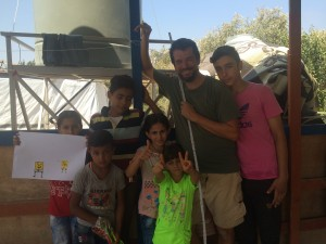 Syrian Refugee camp, Akkar, Lebanon, 2017